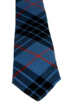MacKay Blue Ancient Tartan Tie