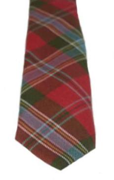 MacLean of Duart Weathered Tartan Tie