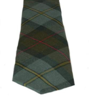MacLeod of Harris Weathered Tartan Tie