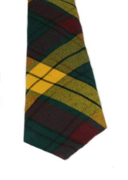 MacMillan Old Weathered Tartan Tie