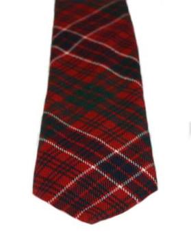 MacRae Red Modern Tartan Tie