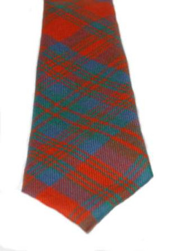 Matheson Red Ancient Tartan Tie