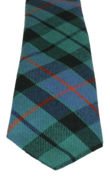 Morrison Green Ancient Tartan Tie