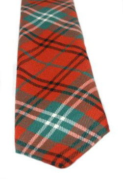 Morrison Red Ancient Tartan Tie