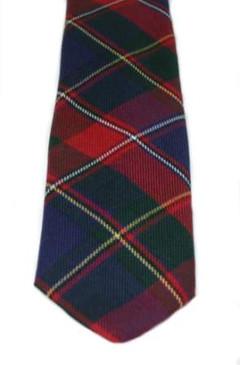 Quebec Modern Canadian Tartan Tie
