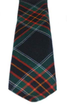 Royal Canadian Mounted Police Tartan Tie