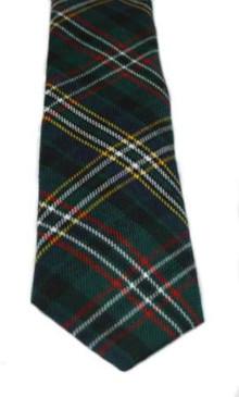 Scott Green Modern Tartan Tie