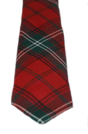 Seton Modern Tartan Tie