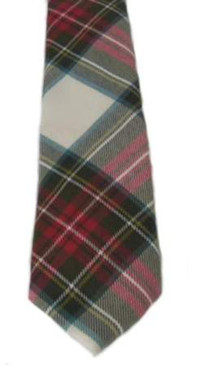 Stewart Dress Weathered Tartan Tie