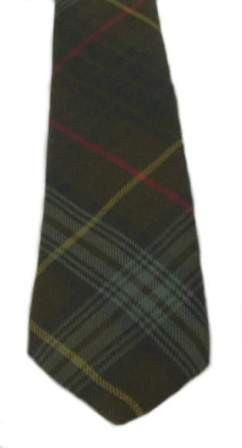 Stewart Hunting Weathered Tartan Tie