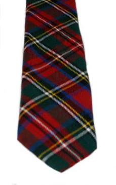 Stewart Prince Charles Edward Modern Tartan Tie