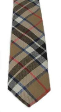 Thomson Camel Modern Tartan Tie