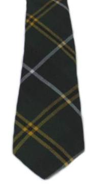 Turnbull Hunting Modern Tartan Tie
