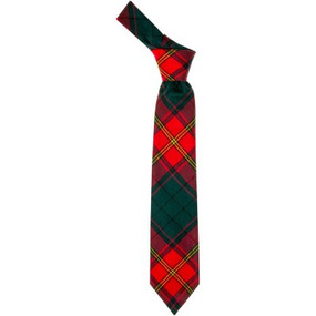 Ulster Red Irish Tartan Tie