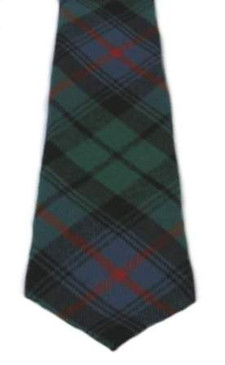 Urquhart Broad Red Ancient Tartan Tie