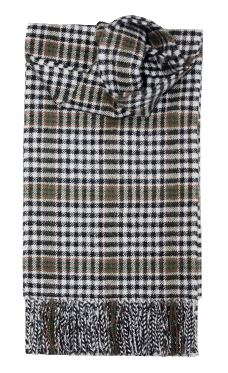 Burns Check Lambswool Scarf