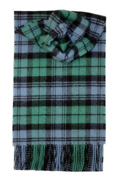 Campbell Clan Ancient Lambswool Scarf