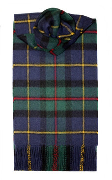 MacLeod of Harris Modern Lambswool Scarf