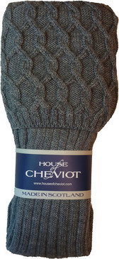 Lewis Kilt hose Charcoal Grey