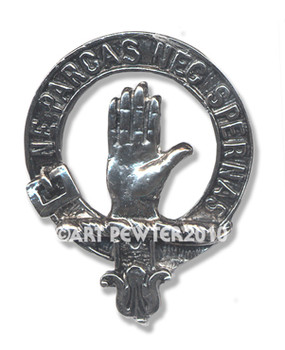 LAMONT CLAN CREST BADGE