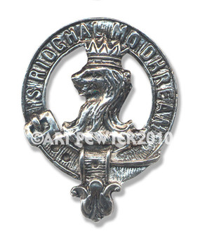 MACGREGOR CLAN CREST BADGE