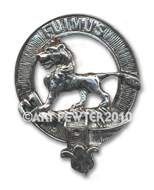 BRUCE CLAN CREST BADGE