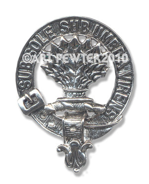 IRVINE CLAN CREST BADGE