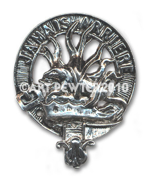 DOUGLAS CLAN CREST BADGE