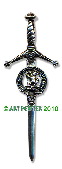 MACKINTOSH Clan Kilt Pin