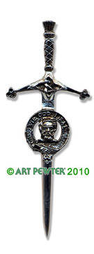 MENZIES Clan Kilt Pin