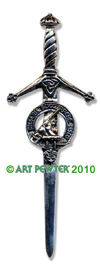 MACMILLAN Clan Kilt Pin