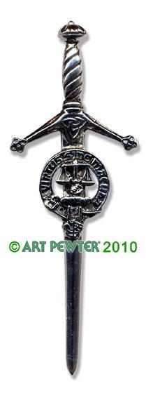 RUSSELL Clan Kilt Pin