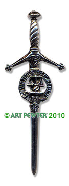 RUSSELL Clan Kilt Pin