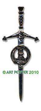 OGILVIE Clan Kilt Pin