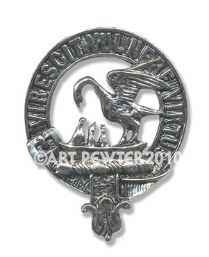 STEWART CLAN CREST BADGE