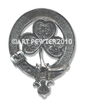 SHAMROCK CLAN CREST BADGE