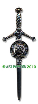 FRASER Clan Kilt Pin