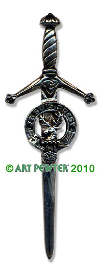 FRASER OF LOVAT Clan Kilt Pin