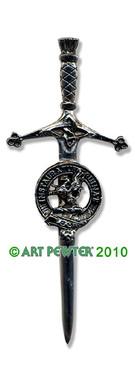 FORSYTH Clan Kilt Pin