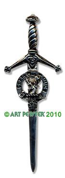 FORBES Clan Kilt Pin