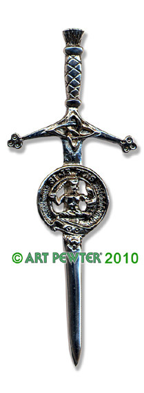 LIVINGSTON Clan Kilt Pin
