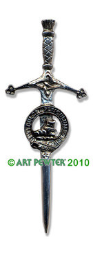 MACAULAY Clan Kilt Pin
