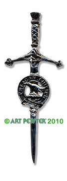 MACDONNELL Clan Kilt Pin