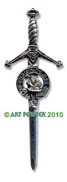 MACDOUGALL Clan Kilt Pin