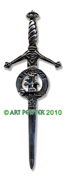 MACEWAN Clan Kilt Pin