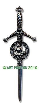 MACFARLANE Clan Kilt Pin