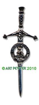 MACGILLIVRAY Clan Kilt Pin