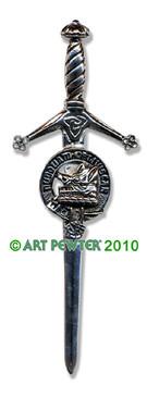 MACIVER Clan Kilt Pin