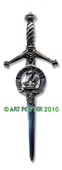 LINDSAY Clan Kilt Pin