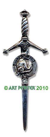 KENNEDY Clan Kilt Pin